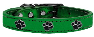 Metallic Paw Leather Emerald Green MTL 10